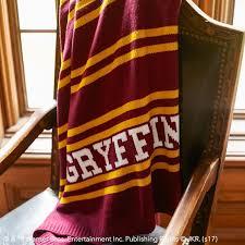 Gryffindor Throw Blanket