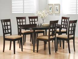 Oval Kitchen Table And Chairs Coaster Mix Match Oval Dining Leg Table Coaster Fine Furniture