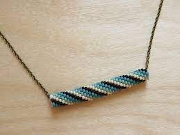 beaded bead necklace how did you make