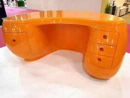 plastic office desk. boomerang desk4 desk an office made of plastic i
