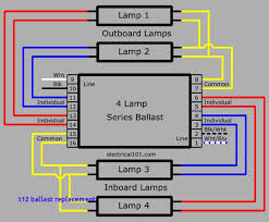 4 light ballast wiring diagram parallel anything wiring diagrams \u2022 ge t12 ballast wiring diagram at Ballast Wiring Diagram T12