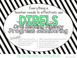 Dibels Conversion Chart The Simple Teachers Oral Reading Fluency Progress Monitoring
