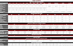 Rothco Pants Size Chart Sizing Charts Surplus Nation