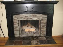 image of fireplace tiles designs