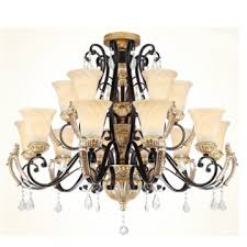european style crystal chandelier in the living room lamps lighting re