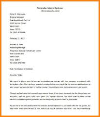 Company Termination Letter Stunning 48 Contract Termination Letter Examples PDF Google Docs MS Word