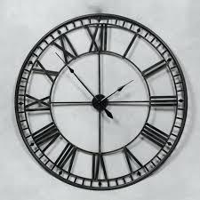 large black wall clocks extra large black metal skeleton wall clock extra large contemporary wall clocks
