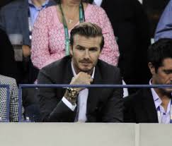 david beckham at the us open and victoria in her favourite dress david beckham watches the us open men s final 164580