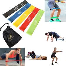 Stretch Band Loops Exercise Chart Fit Simplify Resistance Loop Exercise Bands With Instruction Guide Carry Bag Ebook And Online Workout Videos Set Of 5