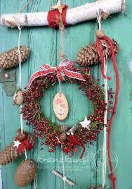 Natur Hagebuttchen Für Tür Fenster Lieblingsplatz Rot Weiss Landhaus Weihnachten