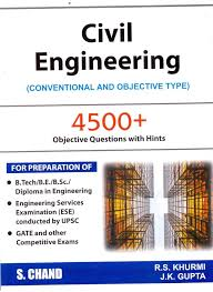 Civil Engineering Conventional and Objective type by R.S.Khurmi and ...