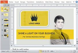 Business Sales Powerpoint Template With Video Animation