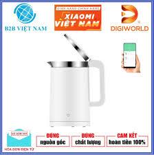 ⭐Ấm đun nước Xiaomi Mijia Smart Electric Kettle thông minh Bản Quốc tế -  Hàng Digiworld (Kết nối Smartphone): Mua bán trực tuyến Ấm siêu tốc với giá  rẻ