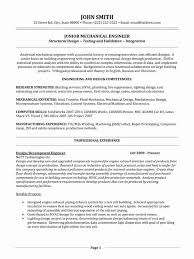 Mechanical Engineer Resume Simple Mechanical Engineering Cover Letter Entry Level Fresh 60 Entry Level