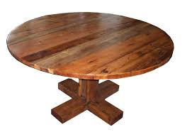 best rustic round dining table