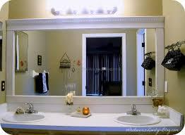 Adhesive Bathroom Mirror Bathroom Mirror Frames 4 Best Home Office Furniture Design Ideas