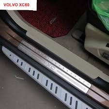 Styling Car Stainless Steel Car Covers Door Sill Scuff Plate Pedal