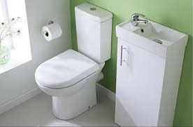 A Cloakroom Basin Is Essential For A Small Bathroom Makeover - Bathroom makeover