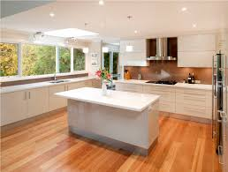 White Kitchen Wood Floors Kitchen Cabinet And Wood Floor Design Pleasant Home Design