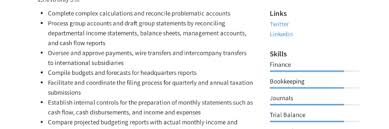 Accounting Assistant Resume Writing Guide 12 Examples