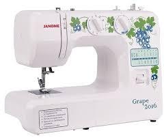Купить <b>Швейная машина Janome Grape</b> 2016 по низкой цене с ...