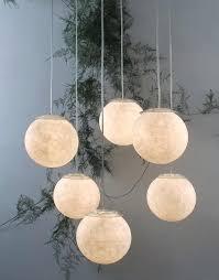 uptown 3 light glass modern clear globe cer pendant giant moon by in haworth 3 light unisphere globe
