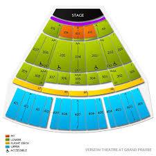 Verizon Theater Seating Chart Pentatonix Grand Prairie Tickets 12 23 2019 Vivid Seats
