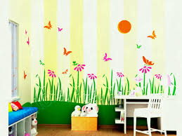 wall painting ideas for home. Wall Painting Ideas For Kids Room New Stencils Rooms Myuala L Home
