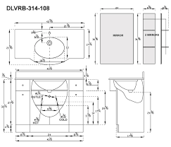 standard bathroom vanity dimensions fabulous delectable 50 master bathroom measurements inspiration design of 46 modern standard