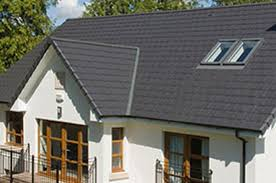 wienerberger s sandtoft slate alternative roof tiles in situ