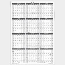 large 2019 yearly wet and dry erase wall calendar 24 x 36 inches 2 sided reversible vertical horizontal mounting tape included awc 001 white