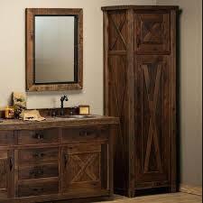 barnwood bathroom vanities bathroom vanity with linen closet reclaimed barn door linen closet