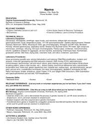 Technical Skills Resume Examples Resume Examples Certifications