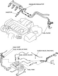 Solved where is the fuel filter located on the 1996 92 camry fuel filter location mazda protege fuel filter location