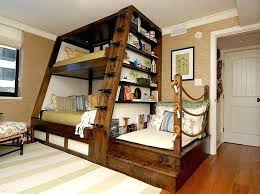 bunk bed with wardrobe loft desk brown carpet closet storage lounge underneath glass and bunkbed bedroom wit
