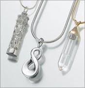 cremation ashes jewelry