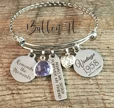 get ations birthday gifts for her sister birthday best friend gift 40th birthday bracelet