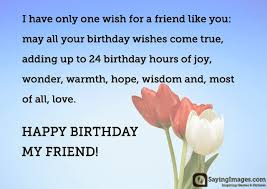 Wish Quotes Amazing Happy Birthday Greetings Quotes Wishes For A Friend SayingImages
