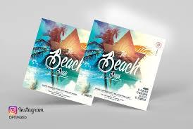 Summer Beach Party Psd Free Flyer Template Free Psd Flyer