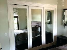 decoration sliding mirror closet doors makeover with mirrored door parts wardrobe