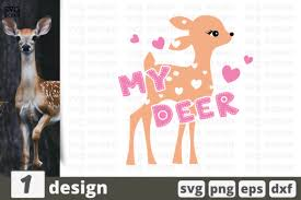 My Deer Graphic By Svgocean Creative Fabrica