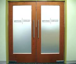 office doors with glass. Simple Office Inside Glass Doors Interior Barn Office  Etched Throughout In Office Doors With Glass N
