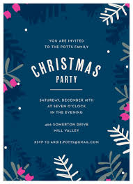 Christmas Holiday Invitations 2019 Holiday Party Invitations Match Your Color Style