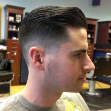 Hairstyles For Men To The Side Short Sides Long Top Haircut Men Short Get Free Printable