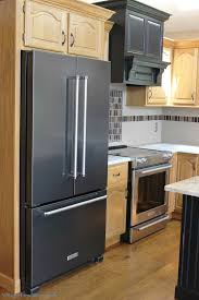 kitchenaid refrigerator black stainless. black and true stainless steel in a prophetstown, il kitchen. | villagehomestores.com kitchenaid refrigerator n