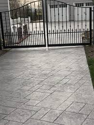 stamped concrete driveway specialists