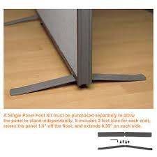 office divider wall. Image Is Loading Office-Partition-Walls-034-ProSeries-Foot-Kit-034- Office Divider Wall