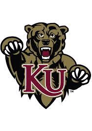 kutztown university 4x5 team logo decal