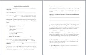 Free Loan Agreement business loan agreement template free brilliant consumer loan 32
