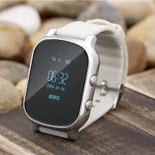 Dễ thương Spy Xem con gps tracker đồng hồ cho trẻ em hồ thông minh đeo tay  thời gian thực theo dõi GSM thẻ sim cho IOS Android SOS báo động